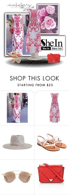 """""""SheIn 9/V"""" by nermina-okanovic ❤ liked on Polyvore featuring Zimmermann, Christian Dior and Alexander Wang"""