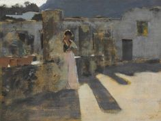 John Singer Sargent (1856-1925) | Capri Girl on a Rooftop | 19th Century, Paintings | Christie's