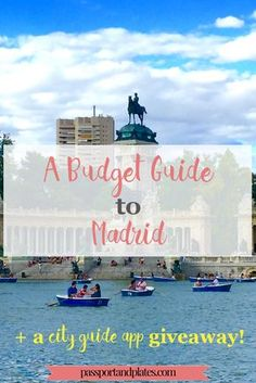 Although many people skip Madrid while traveling through Spain, this guide gives you plenty of reasons to visit the city – and how to see it on a budget! Read more on Passport and Plates and learn how you can win a FREE city guide app to the city of your choice!