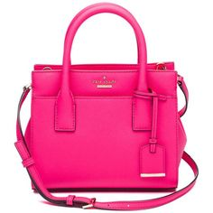 74786b20fa910a Kate Spade New York Pink Cameron Street Mini Candace Satchel - Citi Trends  Designer - Front