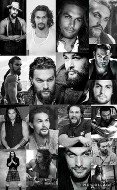 Jason Momoa-different looks.