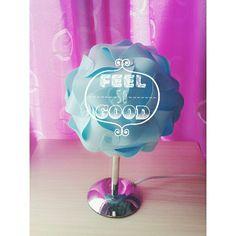 #feel #so #good #lamp #goodlamp #flower #blue