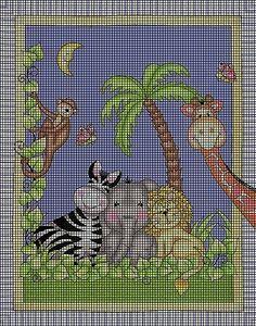 Animal Paradise Crochet Pattern