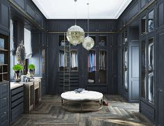 Neoclassical And Art Deco Characteristics In Two Luxurious Interiors – Interior Decorating Ideas