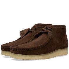 Clarks Originals Wallabee Boot (Dark Brown Suede)