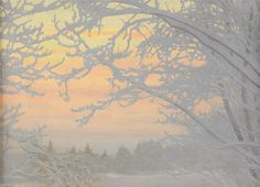 Gustaf Fjæstad - Cold Winter Evening