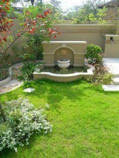 ガーデン施工事例 / 壁泉、テラス、ナチュラル、トラディショナル、ガーデン