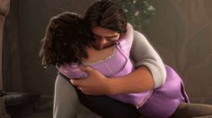 Especially when they hug it out. | 19 Reasons Rapunzel And Flynn Rider Are The Best Disney Couple