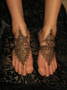 morocan henna tattoos egodesigns