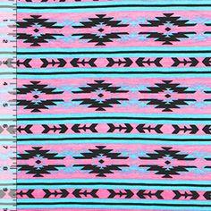 http://www.girlcharlee.com/  Indian Arrow Tribal Cotton Jersey Blend Knit Fabric