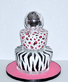 A Birthday Cake fit for a Dancing Queen