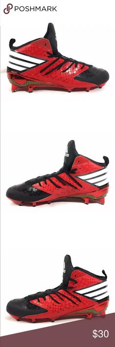 size 40 64e80 82fc6 Adidas Freak X Kevlar Football Mid Cleats Men 12.5 Brand  Adidas Freak X  Kevlar Football Mid Cleats Red Black AQ7189 Condition  New without box  Size  12.5 ...
