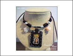 Angeles Vera Bisutería: ESPECIAL ESCAPULARIOS Chokers, Jewelry, Fashion, Religious Jewelry, Moustaches, Necklaces, Accessories, Moda, Jewlery