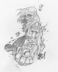 Joe Madureira posted some of his favorite Battle Chasers sketches on facebook a little while ago featuring all your favorite Battle Chaser's...