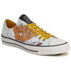 Low top trainers Converse ALL STAR GREEN DAY OX Multicoloured - Free Delivery with Spartoo.co.uk ! - Shoes £ 70.99