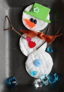 Bonhomme de neige - chd école