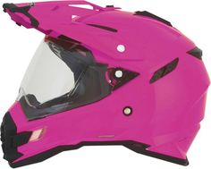 AFX FX-41 Dual Sport Solid Womens Street Riding DOT Protection Motorcycle Helmets
