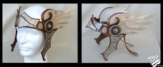 Valkyrie Leather Headpiece by b3designsllc on DeviantArt