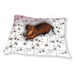 Uneekee Orchid Bloom Dog Pillow Luxury Dog / Cat Pet Bed