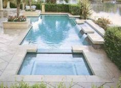 Inspiring geometric pool designs ideas (46)