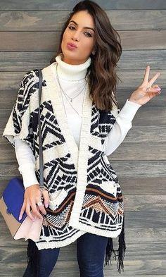 6862bd53f51b camila coelho poncho - Pesquisa Google Cute Winter Outfits