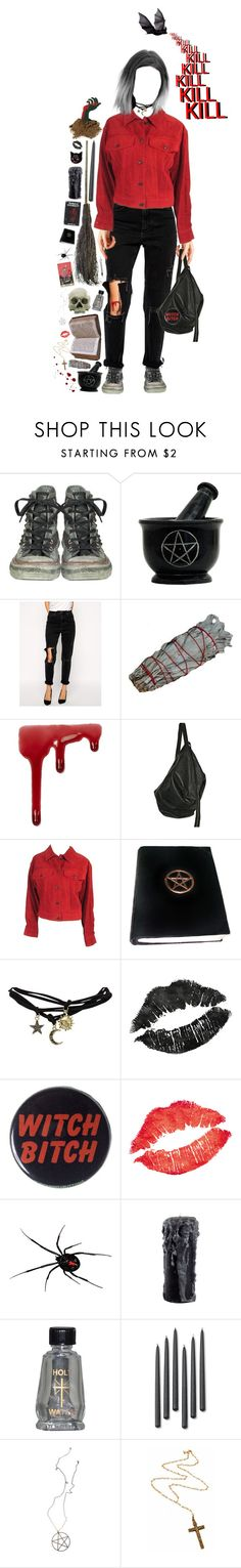 """witchy"" by citixen ❤ liked on Polyvore featuring Converse, ASOS, Topshop, Rick Owens, Gucci, Wet Seal, EXE', WALL, TRANSIT and Williams-Sonoma"