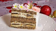 Savory magic cake with roasted peppers and tandoori - Clean Eating Snacks Torte Recepti, Kolaci I Torte, Other Recipes, Sweet Recipes, Cake Recipes, Recipe For Lemon Coconut Cake, Jaffa Cake, Serbian Recipes, Torte Cake