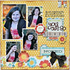 You are so loved! - Scrapbook.com