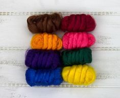 Paradise Fibers Dyed Bamboo Mixed Bag