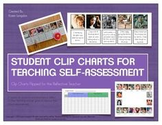 """This system takes the typical behavior clip chart and turns it on its head.  Instead of teachers judging student behavior, students AND teachers BOTH take ownership of their own feelings and set goals to create the optimal learning environment!This is an """"alternative"""" clip chart system that is designed to help students and teachers to become self-reflective about their learning."""