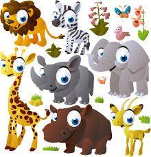 Resultado de imagen para decoracion de las animales clase niños