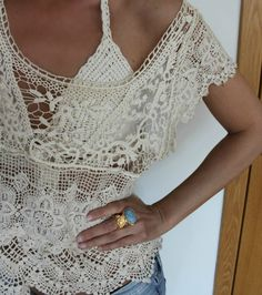Crochet LACE (This is the clearest I've been able to see this lace).  Can use it as inspiration for crochet