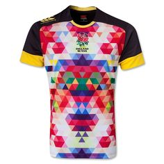 England Sevens 2014 Alt Pro Rugby Jersey Rugby Equipment, Rugby Gear, Cycling Jerseys, Sports Jerseys, World Rugby, Shopping World, Sport Wear, Athletic Wear, Football Shirts