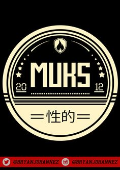 """DESIGN FOR """"MUKS CLOTH"""" T-SHIRT"""