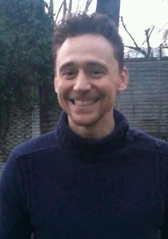 Tom Hiddleston. Just be happy