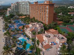 "Hotel Barcelo.  Playa El Palmar, Ixtapa, Mexico......home of many ""Winter Conference"" events for our Indiana Insurance Agent's Association.  So many fun times with our friends and business associates!"
