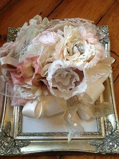 Vintage Fabric Bridal Bouquet - The 'Sienna' Bouquet £100.00