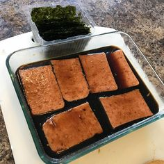 Seaweed, spam is mar