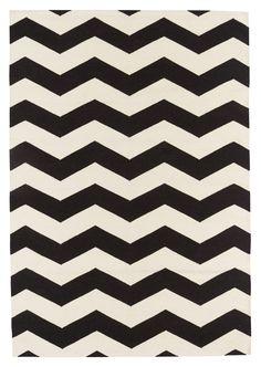 Tapis ANNIKA, noir/blanc, L:120 P:170 cm - Tapis - Boutique en ligne micasa.ch