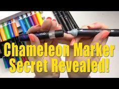 Chameleon Markers Secret Revealed!