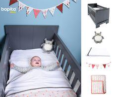 Inspiratie voor de #babykamer. Serie Tim in deep grey van Bopita is goed te stylen met zowel meisjes als jongens accessoires. Bekijk onze styling op de blog, inclusief alle accessoires: http://bopita.com/blog/algemeen/inspiratie-babykamer
