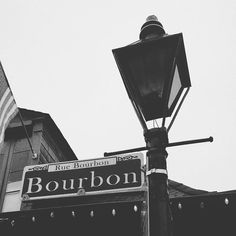 A bourbon on Bourbon Street! #neworleans #frenchquarter #bourbonstreet #lamps by asliceofteaandacupofcake