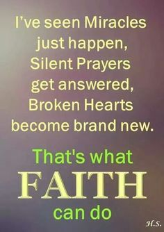 Yes! Claim it & Beleive it! There's Power in your Faith if u Trust him & Beleive Him