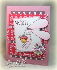 Birthday Rabbit by Zlatoena's Design - https://www.etsy.com/listing/72330970/girl-rabbit-happy-birthday
