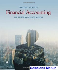 Horngrens accounting the financial chapters 11th edition test bank solutions manual for financial accounting the impact on decision makers 8th edition by porter fandeluxe Choice Image
