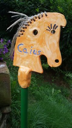 Keramik Pferd