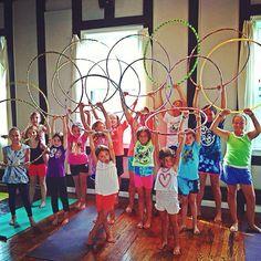 Alluem Kids: Hoop Yoga!