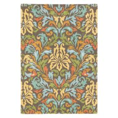 Jolie Rug in Multi (floral Pattern, Rug Sample) | Handmade Area Rugs from Company C