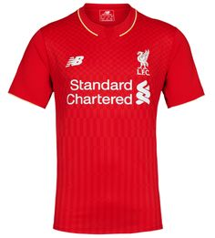 c6db9f430 Revealed  LFC s new 2015-16 home kit - Liverpool FC Liverpool Fc Home