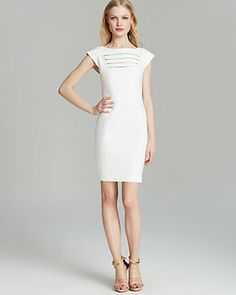 FRENCH CONNECTION Dress - Fast Estelle Stretch | Bloomingdale's